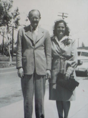 Gus and Mary Nikander, Heppner, Oregon