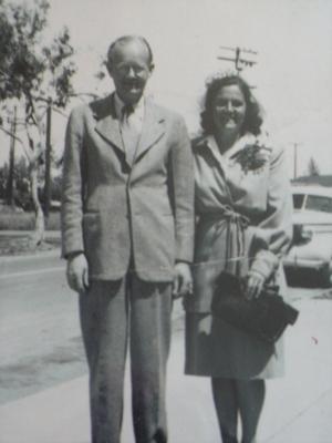 Gus and Mary Nikander, Heppner,Oregon