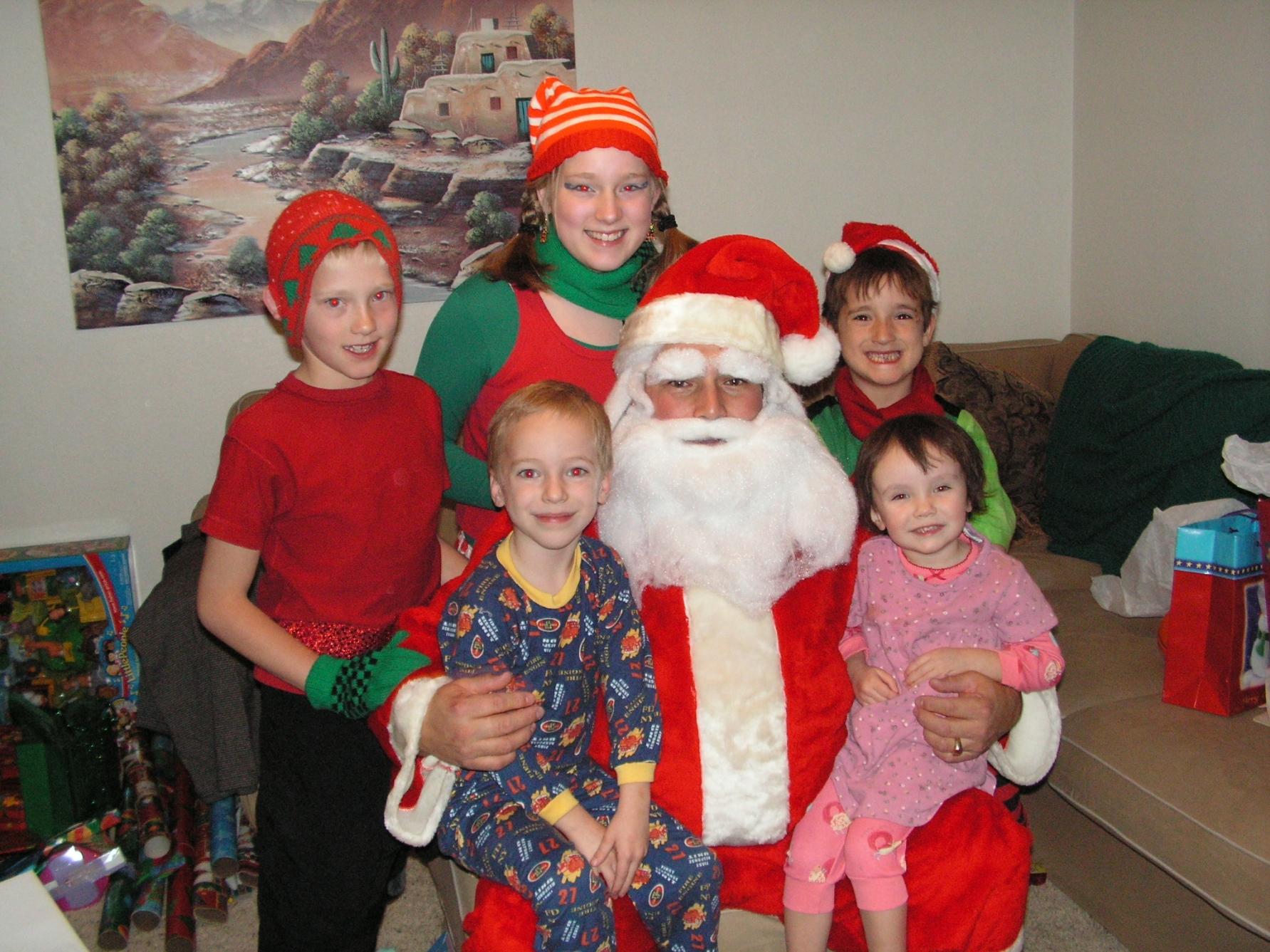 Santa andElves