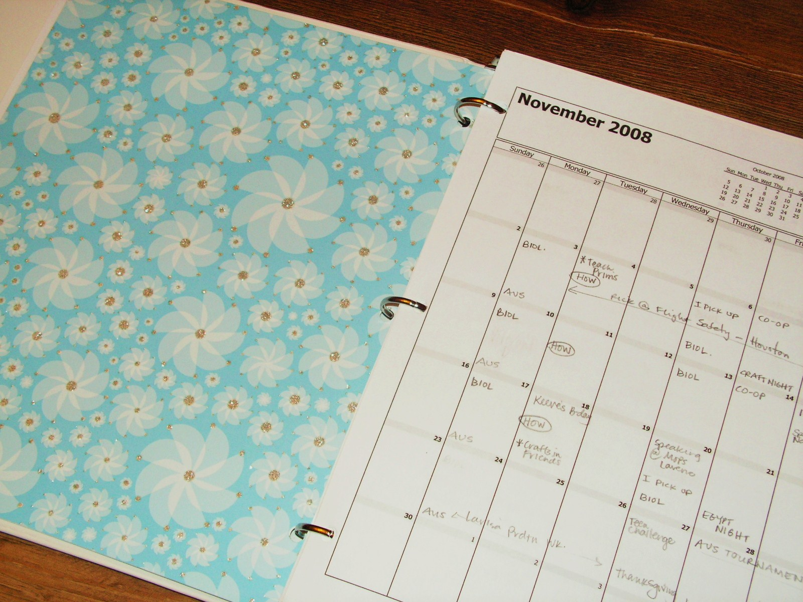 My Holiday Planner My Sister 39 S Jar