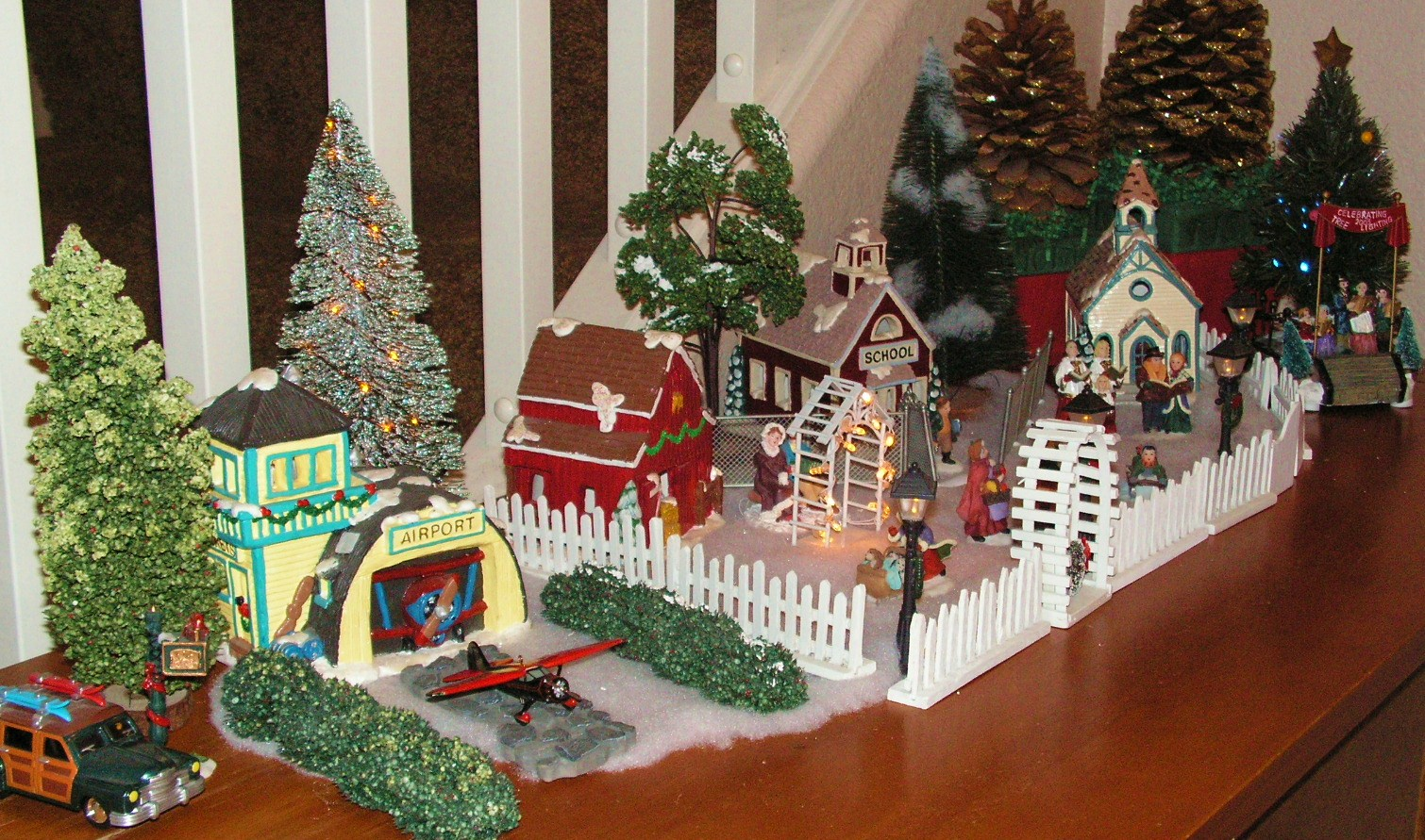 christmas decoration village