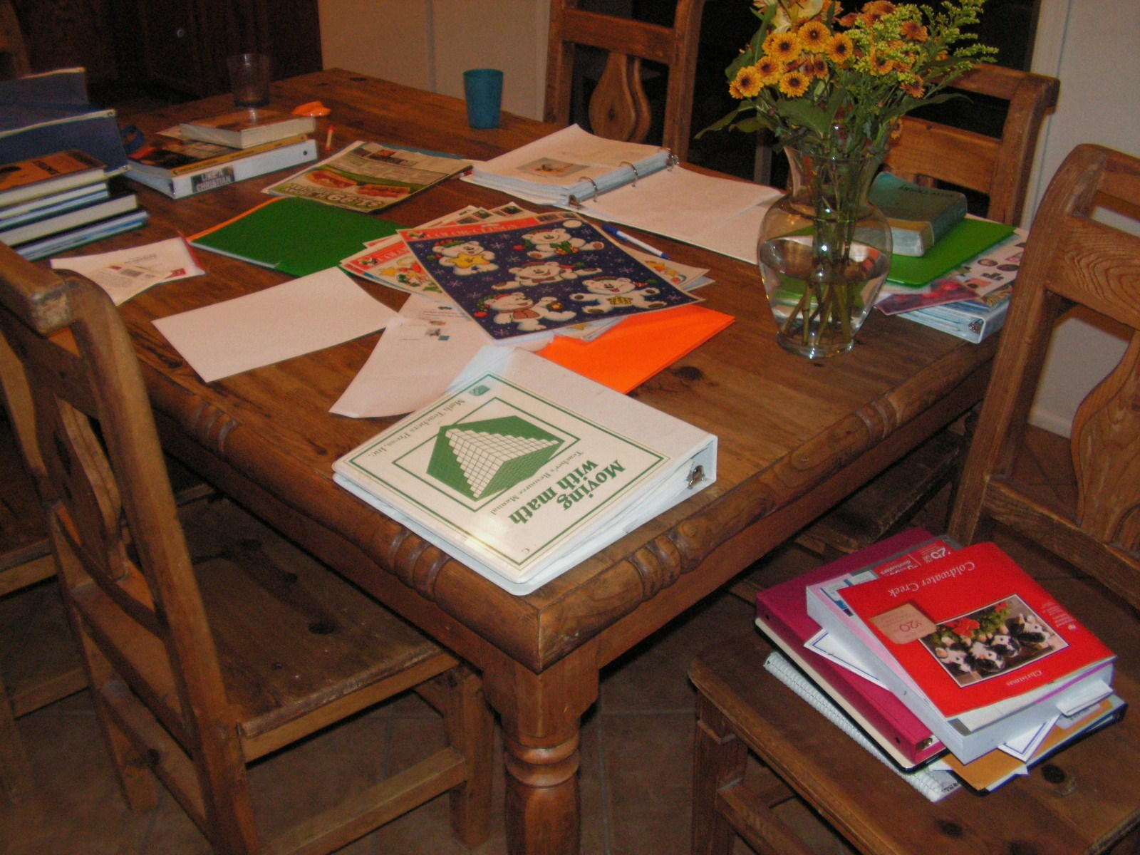 the cluttered desk essay In a perfect mess: the hidden benefits of disorder, authors eric abrahamson and david h freedman say, on a messy desk, the more important, urgent work tends to stay close by and near the top of.