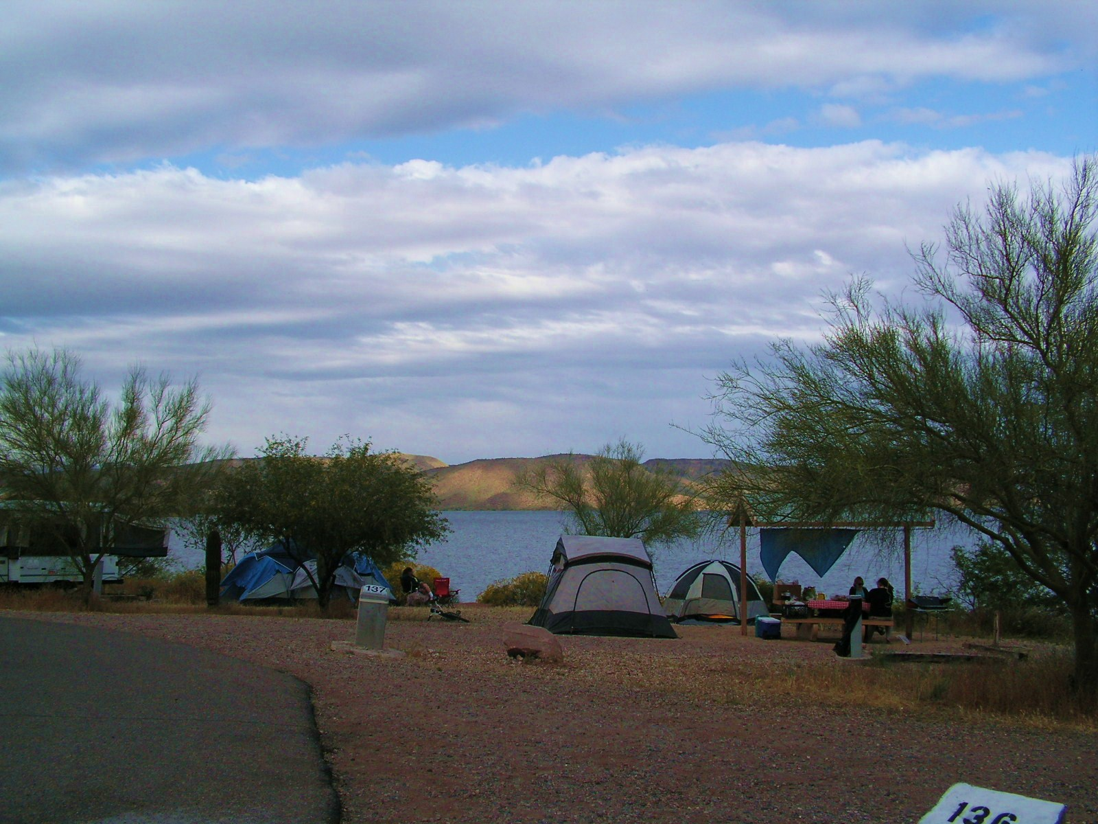 Camping Lake Pleasant Az http://mysistersjar.wordpress.com/2010/04/25/damping-camping-in-the-rain/