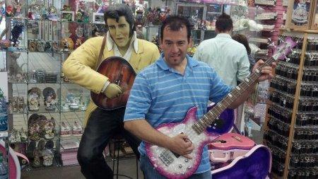rick pink guitar