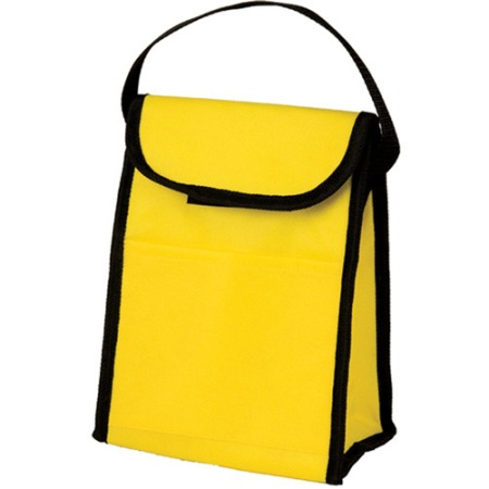 yellow lunch sack