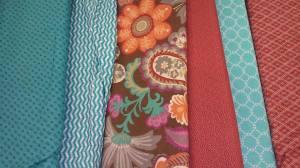 turq n rust fabric